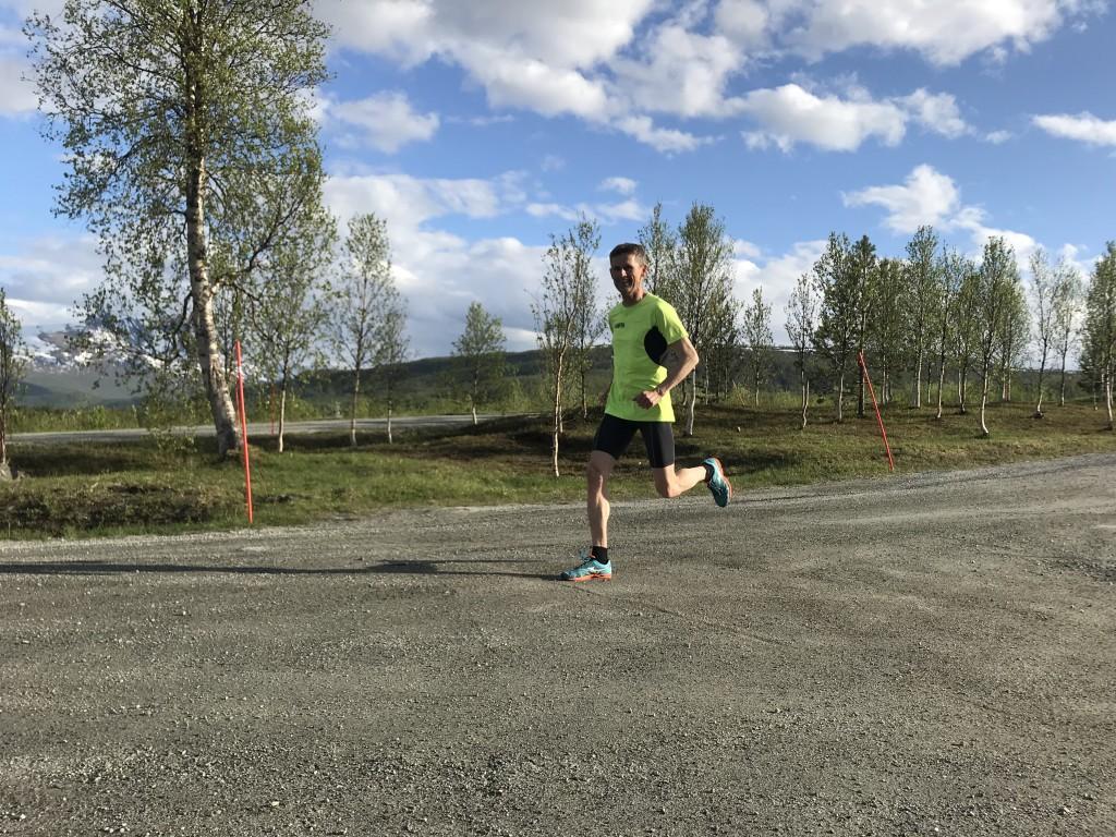 Jan Viktor var raskest av alle voksne, etter solid skyting og god fart i løypa